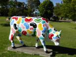 jelly bean cow